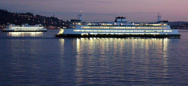 Washington State Ferries operates largest ferry fleet in the USA