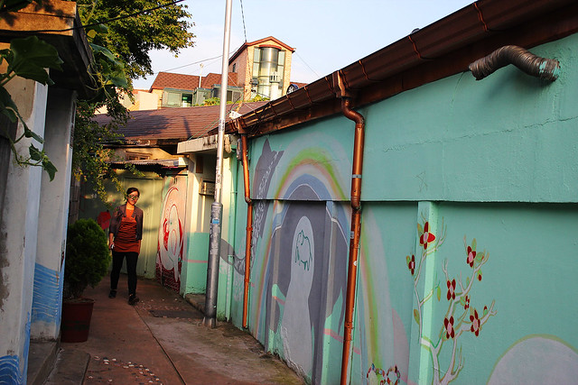 Buksudong Mural Art Alley