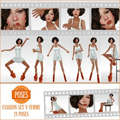 Frozen Panty POSES | FASHION SET V FEMME