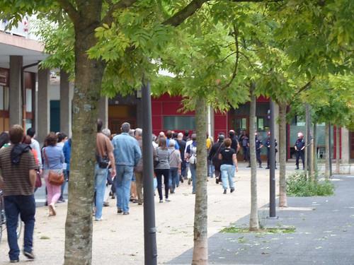 Greba orokorra, manifestazioa Andoainen