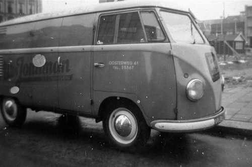 """NN-24-?? Volkswagen Transporter bestelwagen 1953 """"Jonkman"""""""
