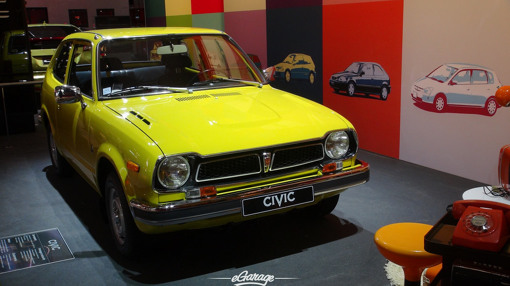 8034738940 d14b447c9a b eGarage Paris Motor Show Retro Honda Civic