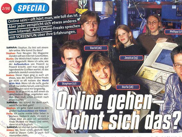 Bravo Screenfun 1998 - Online gehen, lohnt sich das?