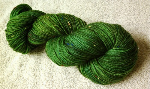 Christmas tree yarn!