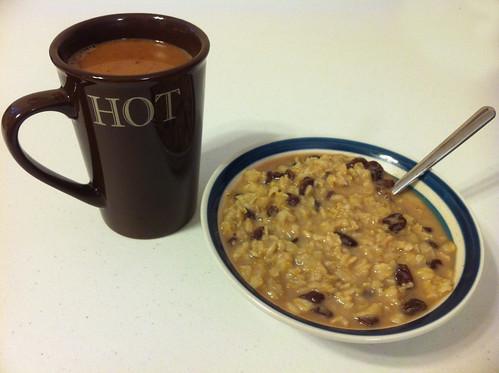 Hot Cocoa And Oatmeal