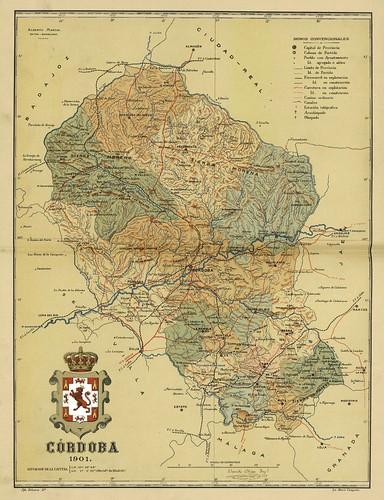 009-Provincia de Cordoba-Atlas geográfico ibero-americano. España (1903)