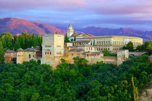 The Alhambra from Mirador de St. Nicolas (1)