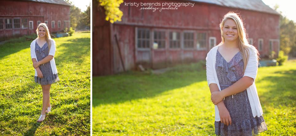 Senior Photography - Barn