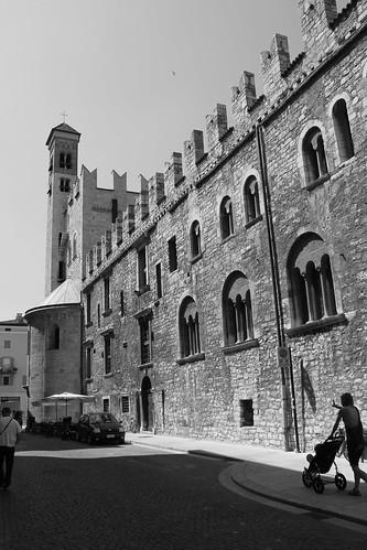 Muralla en Trento