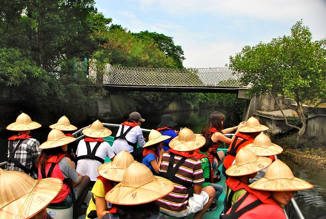 台南台江國家公園綠色隧道