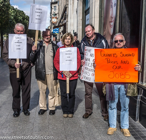29 Ex-Staff Protest Outside Clearys by infomatique