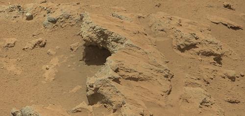 Antiguo flujo de agua en Marte
