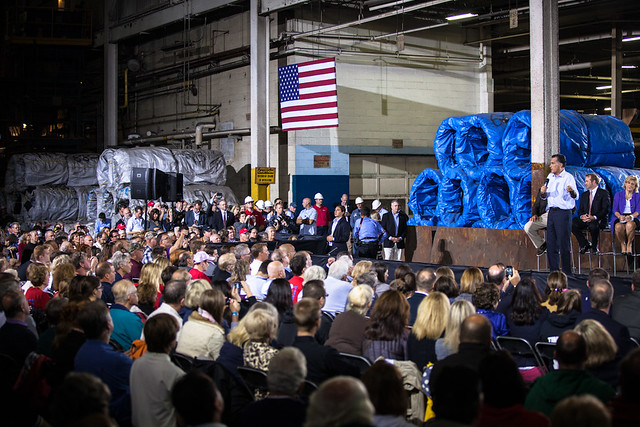 Romney in Cleveland OH-1