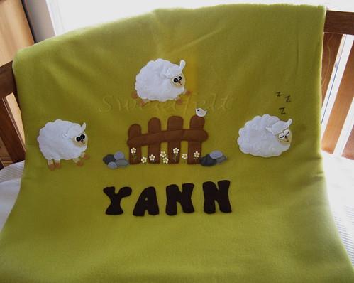 ♥♥♥ Ovelhinhas para o Yann... by sweetfelt \ ideias em feltro