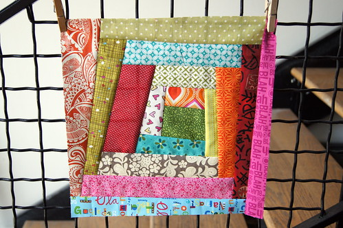 Stash Bee Block 2 - October 2012