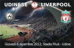 biglietti Udinese-Liverpool, Udinese-Liverpool tickets