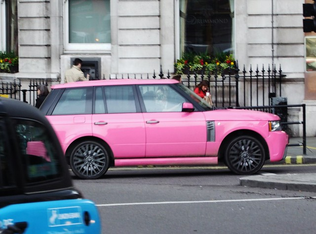 Jordans Range Rover | Flickr - Photo Sharing!