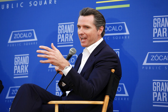 Zócalo: An Evening with Gavin Newsom