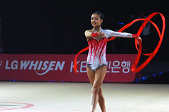 uneven bars(0.0), rings(0.0), floor gymnastics(1.0), individual sports(1.0), sports(1.0), performing arts(1.0), gymnastics(1.0), gymnast(1.0), entertainment(1.0), artistic gymnastics(1.0), rhythmic gymnastics(1.0),