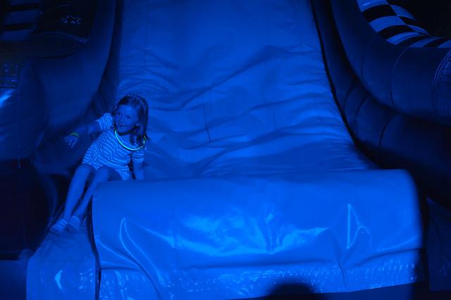 009 Abby glow party