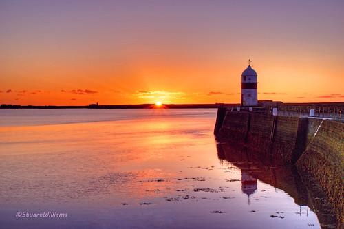sunrise coast pier harbour hdr isleofman breakwater photomatix castetown
