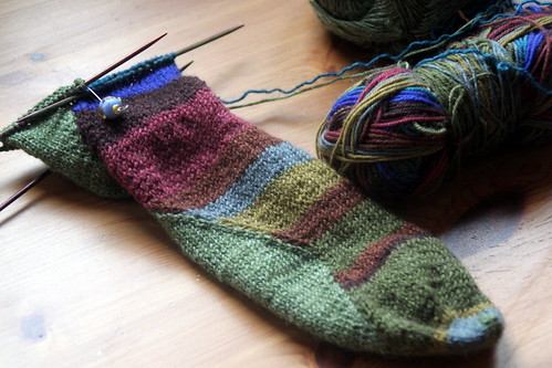 wip wednesday: stitch surfer socks.
