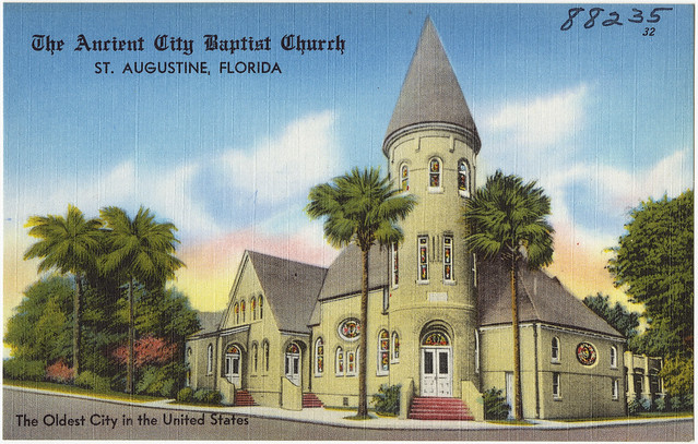 The Ancient City Baptist Church St Augustine Florida T