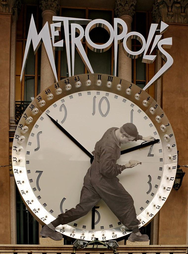 Hommage à Metropolis sur le Molle Antonelliana de Turin - Photo de Gianfranco Goria