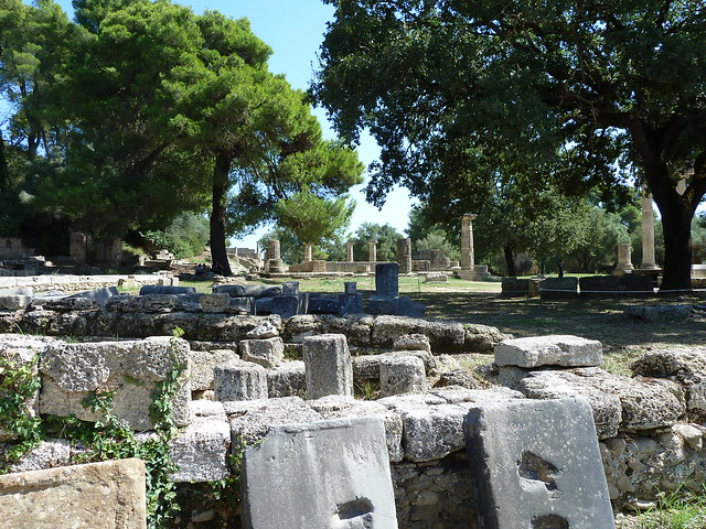 Broken Down Rocks of Ancient Olympia