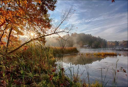 lake sunrise landscape nationalpark cuyahogavalleynationalpark 1740l cvnp behm kendallake 5dm2 danielbehm
