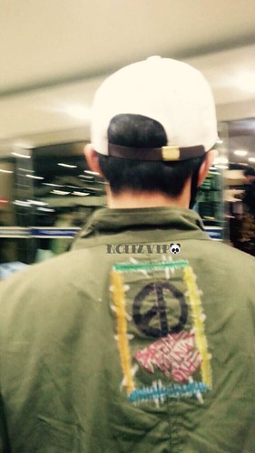 G-Dragon - Gimpo Airport - 02mar2015 - NoiizVip - 04