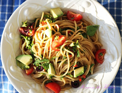 Your Fave Veggie Loaded Summer Pasta Salad