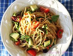 Your Fave Veggie Loaded Summer Pasta Salad
