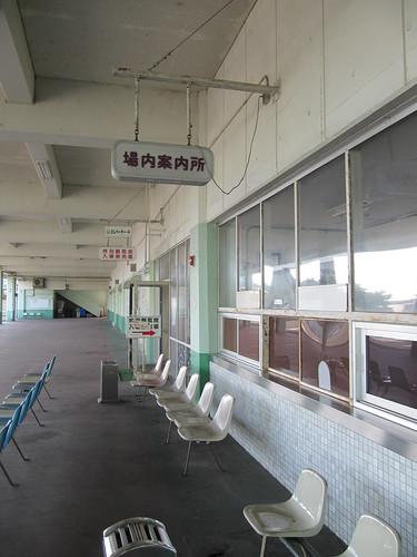 姫路競馬場の場内案内所
