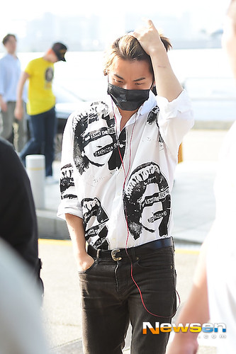 Big Bang - Incheon Airport - 07aug2015 - Newsen - 03