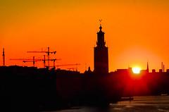 Soluppgång i Stockholm