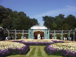Aviary, Waddesdon Manor Gardens