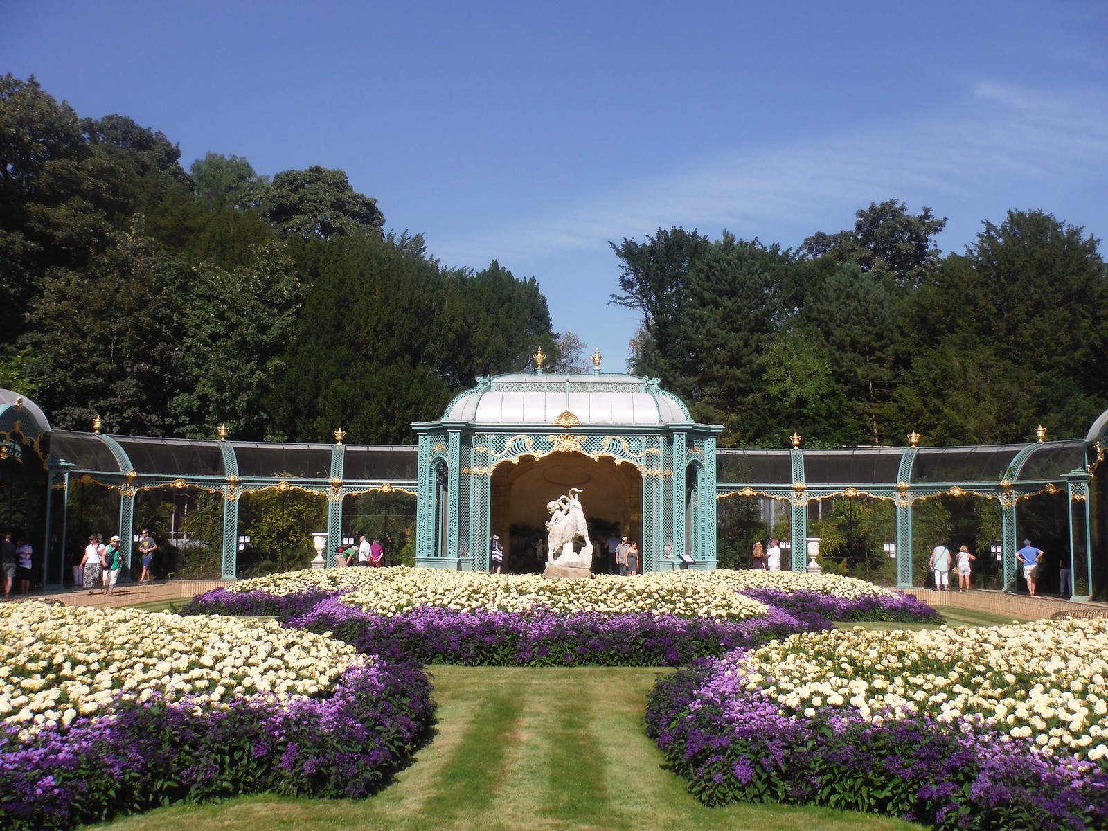 Aviary, Waddesdon Manor Gardens SWC 192 Haddenham to Aylesbury (via Waddesdon)