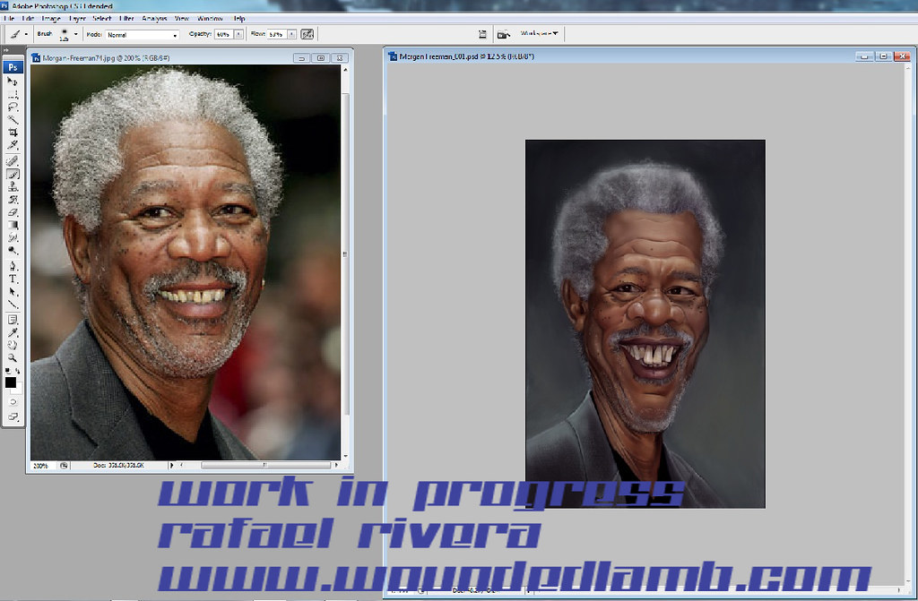 Morgan Freeman_WIP