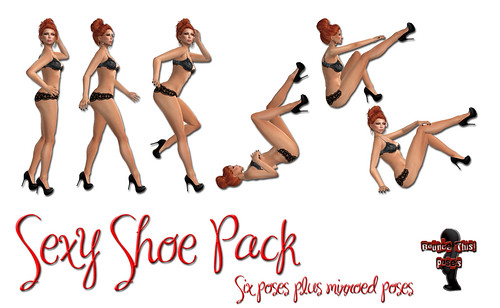 Bounce This Poses - Sexy Shoe Pack