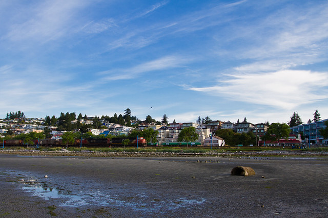 Low Tide in White Rock BC-577