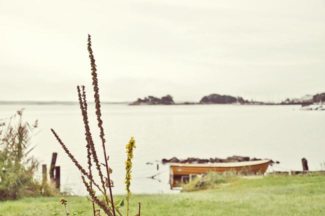 gul båt