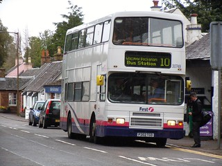 First Scotland East 30749 P202TGD in Killearn