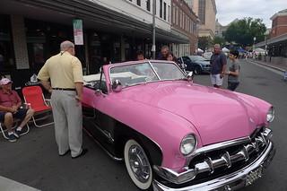 Steve with Classic Car