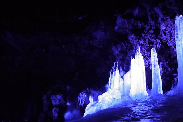 Narusawa Ice Cave / 鳴沢氷穴