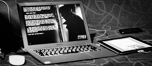 Interactive Fiction Game: Cypher