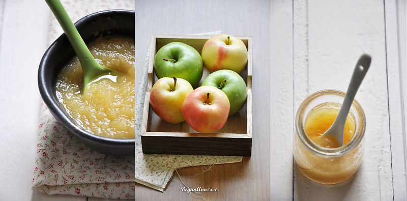 Apple Sauce and Apples mix