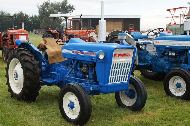 1963 Ford Tractor Model 2000 : Ford tractor car interior design