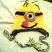 Minion Ear Flap Hat