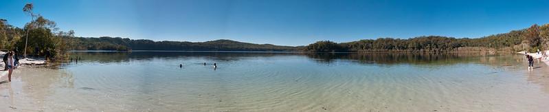Panorama - Lake McKenzie @ Fraser Island